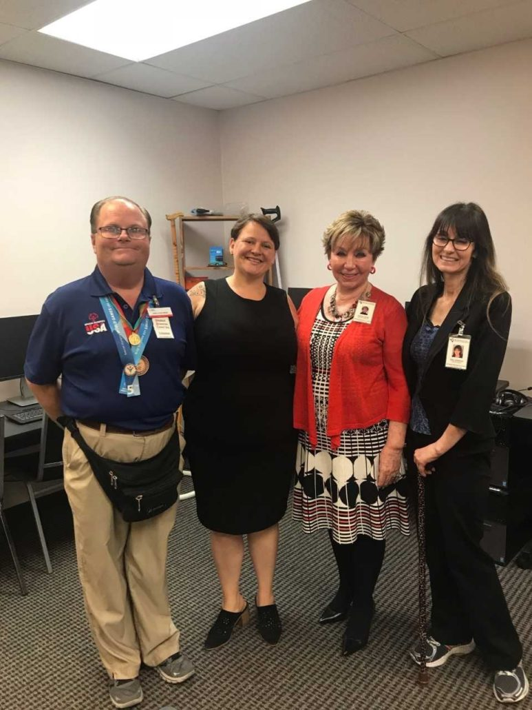Drc Had A Delightful Visit From Councilwoman Jeannine Pearce 2nd District Long Beach On July 17 2018 Disabled Resource Center